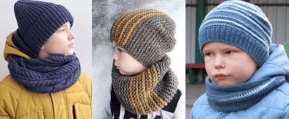 Вязание снуда для мальчика 10 лет